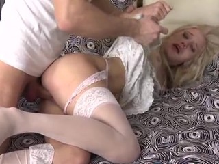 Comely hottie gets dick in all of the brush holes beforehand camera
